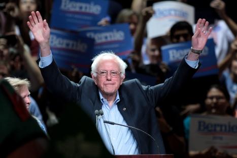 Bernie_Sanders Victory